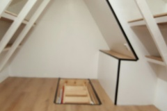 Clean safe attic storage