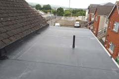 WARM ROOF    Firestone EPDM roof with 100mm external insulation